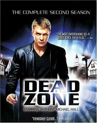 The Dead Zone - The Complete Second Season (DVD, 2004, 5-Disc Set)FACTORY SEALED
