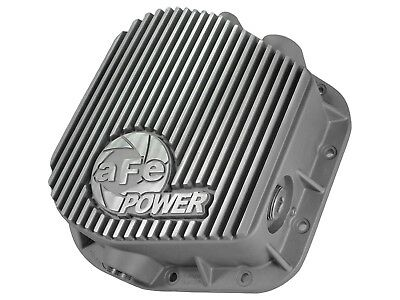 AFE POWER 46-70150 Rear Differential Cover; Raw Finish; Street Series for Ford