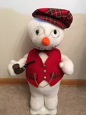 Holiday Time Motion-ettes 21 Inch Deluxe Animated Holiday Snowman