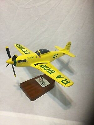 Bob Hoover North American P-51 Mustang scale model.