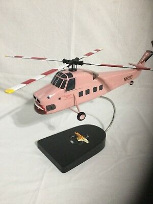 "Sikorsky S-58T ""Screaming Mimi"" from the TV show ""Riptide"", scale model"