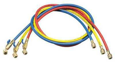 YELLOW JACKET 29986 Manifold Hose Set,Low Loss,72 In