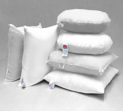 Cushion Inners Inserts Pads Scatters Filler Microfibre Hollowfibre DUCK FEATHER