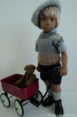 """School or Playtime Outfit for Gregor/Sasha Doll by """"The Spin I'm In."""""""