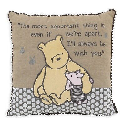 Disney Classic A Day with Pooh Throw Decorative Pillow