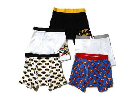 Justice League Little Boys'  Boxer Brief (Pack of 5)