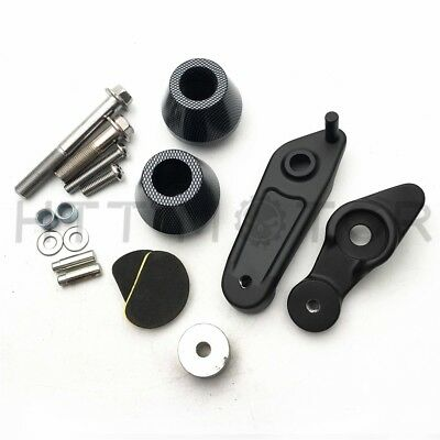 Carbon Frame Sliders Crash Protectors For Yamaha YZF R1 2009-2014 2012 2013