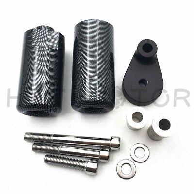 For 2008-2009 Yamaha YZF R6 DELRIN FRAME SLIDERS Carbon