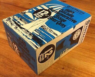 Cascade Draught. Sydney To Hobart. 12 x Steel Can Beer Pack. 1980.