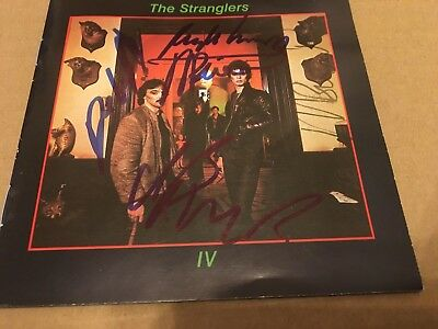 The Stranglers     -  Rattus    Fully Signed   -  Uk  Cd Lp  -  Punk    -   Uacc