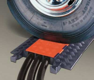 Black I49T CHECKERS INDUSTRIAL PROD INC FL1X1.5-B Cable Protector 3 ft.