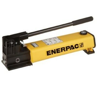 Enerpac P802, 10,000 Psi, Two Stage Manual Hydraulic Pump