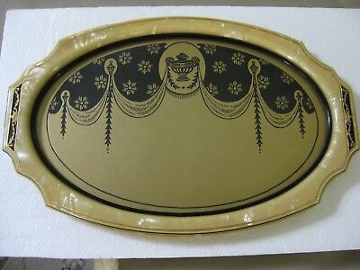 Very Cool!! Antique Art Deco Vanity Tray, Celluloid and Glass, Pyralin Sheraton