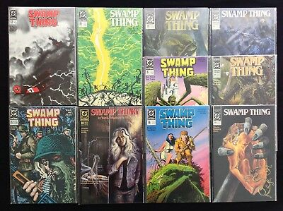 SWAMP THING Lot of 10 DC Comic Books - #82 83 84 85 86 87 89 90 91 92!
