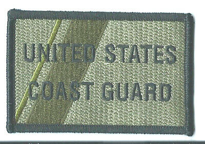 USCG United States Coast Guard subdued patch 2-1/4 X 3-1/2