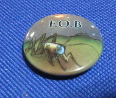 F.O.B. Fall Out Boy Pin Button Badge Insect