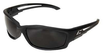 EDGE EYEWEAR TSK216 Kazbek Safety Glasses With Black Frame And Gray