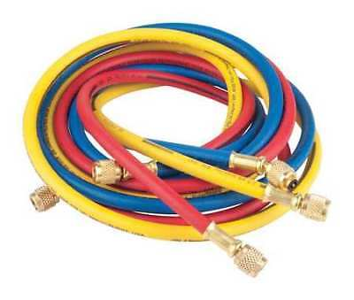 IMPERIAL 806-MRS Manifold Hose Set,72 In,Red,Yellow,Blue