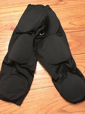 Riddell Youth XL Football Pants With Pads Black