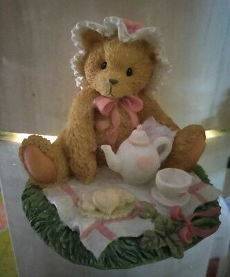 Cherished Teddies Marie #910767 - Friendship Is A Special Treat with box