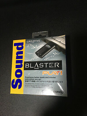 Creative Sound Blaster Play! - USB sound card IDEAL FOR GAMERS AND MUSICIANS