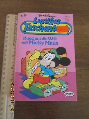 Mickey Mouse Comic Book in German!