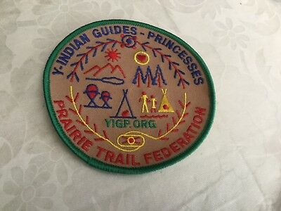 Y-Indian Guides-Princesses Patch