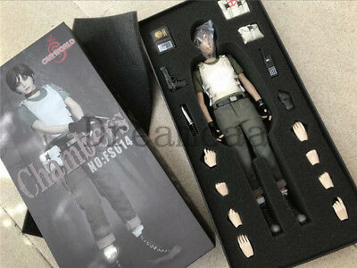 SW ourworld FS014 1/6th Resident Evil Rebecca Chambers Action Figure Toy Doll