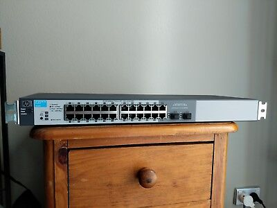 HP 1810G-24 J9450A gigabit network switch