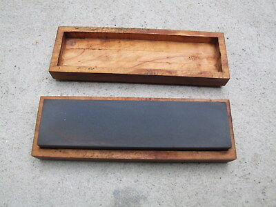 New Old Stock Sharpening Stone. In Box Unused #1