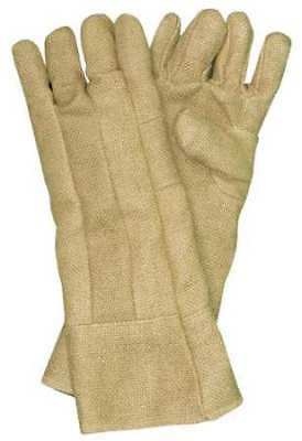 ZETEX PLUS 2100014 Heat Resistant Gloves,Tan,ZetexPlus,PR