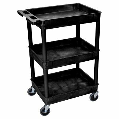 Luxor 3 Shelf Heavy Duty Tub Cart
