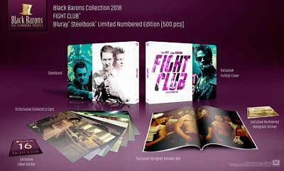 Fight Club Blu-ray SteelBook Black Barons Collection #16 Filmarena