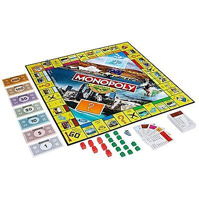 Monopoly Australia Edition Family Board Game Fun Australian Themed Location Play