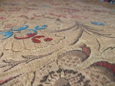 """Antique French Tapestry Upholstery Fabric  97""""(246cm)  long x 50""""(127cm) wide"""