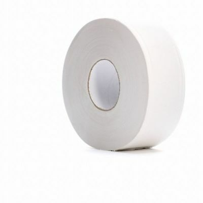Toilet Paper,Jumbo,White,9 in. dia.,PK12 TOUGH GUY 31KY15