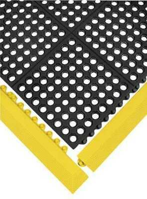 "Mat Edging,Yellow,3"" x 3ft. 3"" WEARWELL 572"