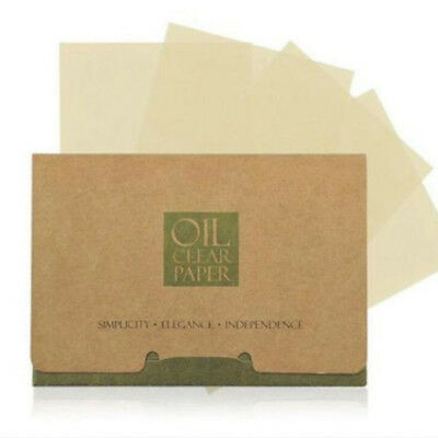FT- 100Pcs Facial Oil Control Absorbing Film Sheets Blotting Paper Face Cleaner