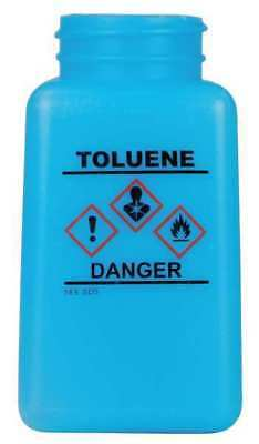 MENDA 35761 Graduated Toluene Bottle,6 oz.,HDPE,Blue