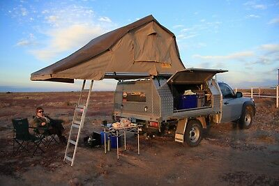 & EEZI-AWN ROOFTOP TENT with annexe - $1200.00   PicClick AU