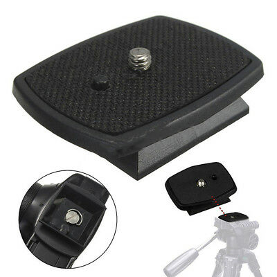 Quick Release Plate For DSLR SLR Digital Camera Tripod Screw Adapter Mount Head