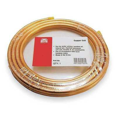 """MUELLER INDUSTRIES 657R 5/8"""" OD x 50 ft. Coil Copper Tubing Type ACR"""