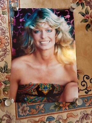 Charlie's Angels Farrah Fawcett  Huge 20X30 Poster Paisley Outtake