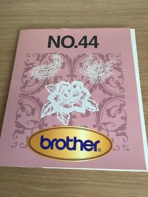 Brother Embroidery Card Number 44