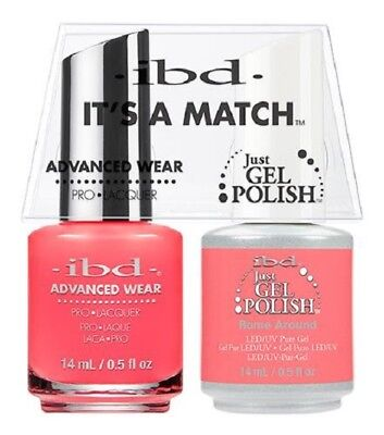 IBD It's a Match GEL & Nail Polish Matching Color Pick Any