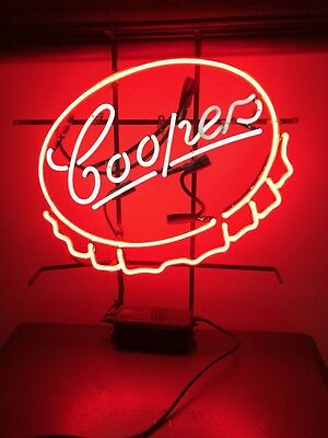 Cooper's Brewery Neon Light-Up Sign