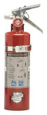 "Fire Extinguisher, 10B:C, Dry Chemical, 2-1/2 lb., 15""H BUCKEYE 13415"
