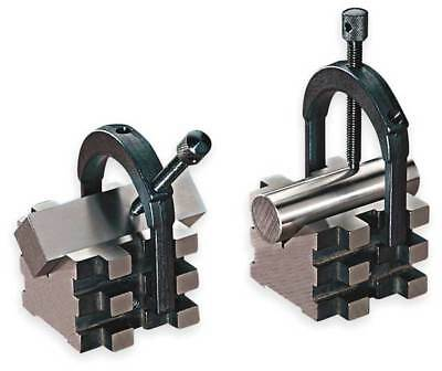 V-Blocks,Matched Pair w/Clamps,2 In STARRETT 568C