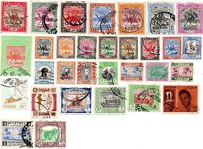 commonwealth stamps, north africa