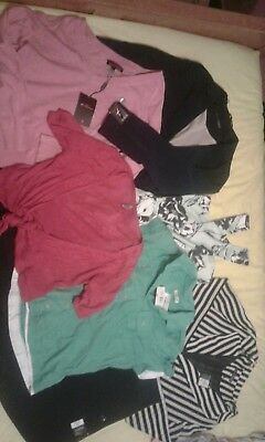 New and used Ladies clothes bundle size 14 .